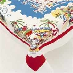 Retro American Wonderland Tablecloth