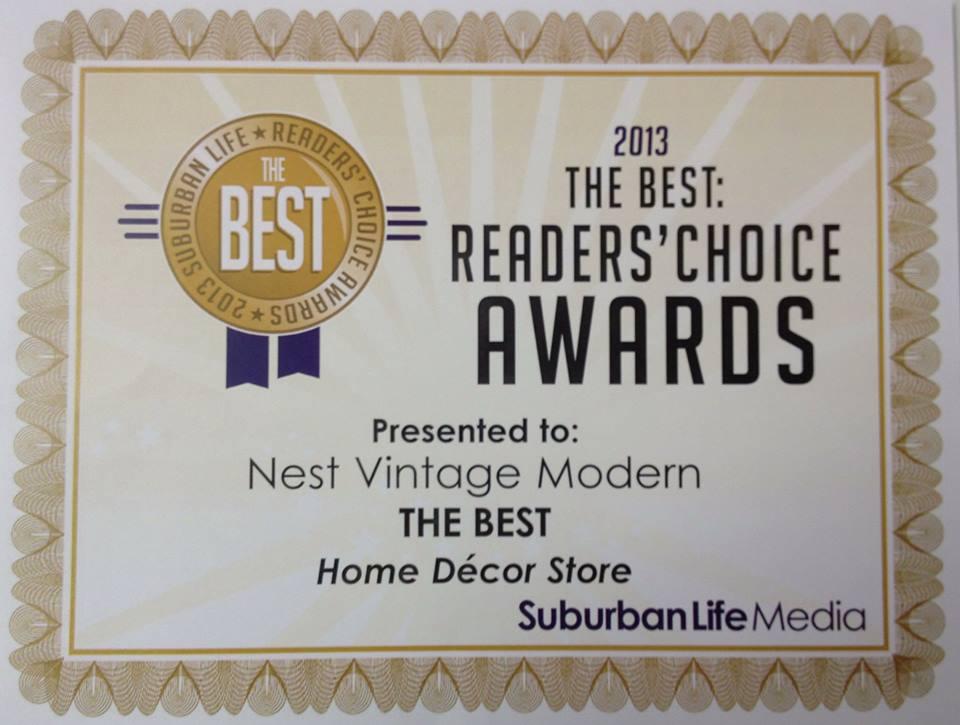 Suburban Life 2013 Readers Choice Awards Quot Best Home Decor