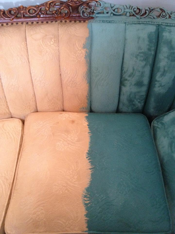 That Time I Painted A Victorian Sofa With Paint Nest