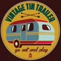 Vintage Tin Trailer